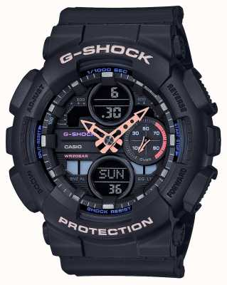 Casio G-Shock Unisex Multicoloured Dial | Black Strap GMA-S140-1AER