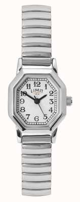 Limit Women's Stainless Steel Bracelet | White/Silver Dial 60122.38