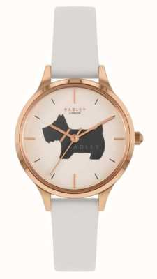 Radley Meridan Place | Cream Leather Strap | Dog Motif Dial RY2976