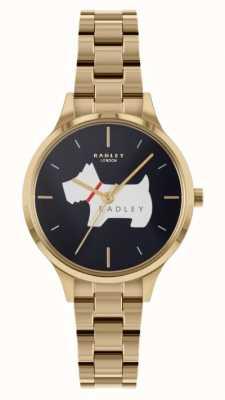 Radley Meridan Place | Gold Tone Steel Bracelet | Blue Dial RY4520