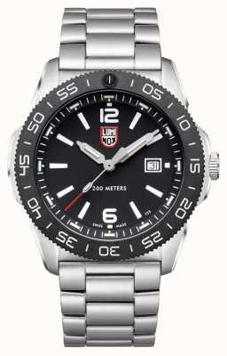 Luminox Men's Pacific Diver | Black Dial | Stainless Steel Bracelet XS.3122