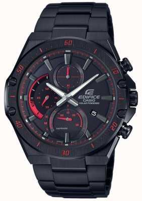 Casio | Edifice Solar | Black PVD | Black Dial EFS-S560DC-1AVUEF