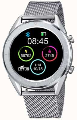 Lotus Men's | Smartime | Stainless Steel Mesh+ Free Strap 50006/1
