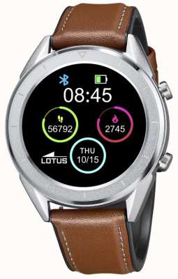 Lotus SmarTime | Men's | Brown Leather Strap + Free Strap 50008/1