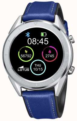 Lotus SmarTime | Men's | Blue Leather Strap + Free Strap 50008/2