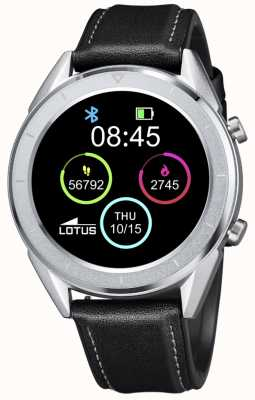 Lotus SmarTime | Men's | Black Leather Strap + Free Strap 50008/3