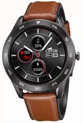 Lotus SmarTime | Men's | Brown Leather Strap + Free Strap 50012/1