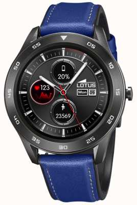 Lotus SmarTime | Men's | Blue Leather Strap + Free Strap 50012/2