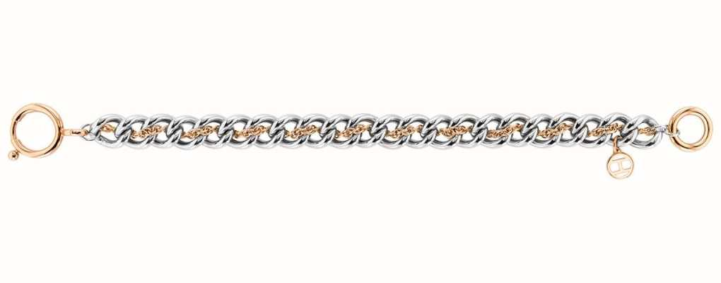 Tommy Hilfiger Women's Double Link Bracelet | Stainless Steel 2780469