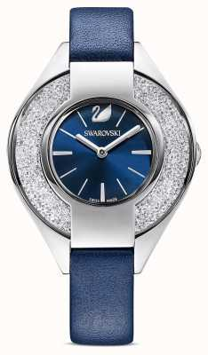 Swarovski | Crystalline Sporty | Blue Leather Strap | Blue Dial | 5547629