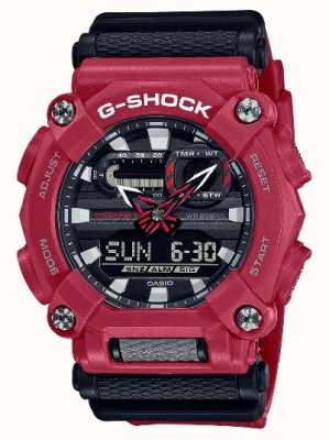 Casio G-SHOCK | Heavy Duty | World Time | Red Resin GA-900-4AER