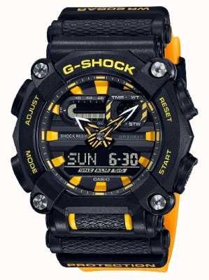 Casio G-SHOCK | LTD Edition | Heavy Duty | World Time | Yellow GA-900A-1A9ER