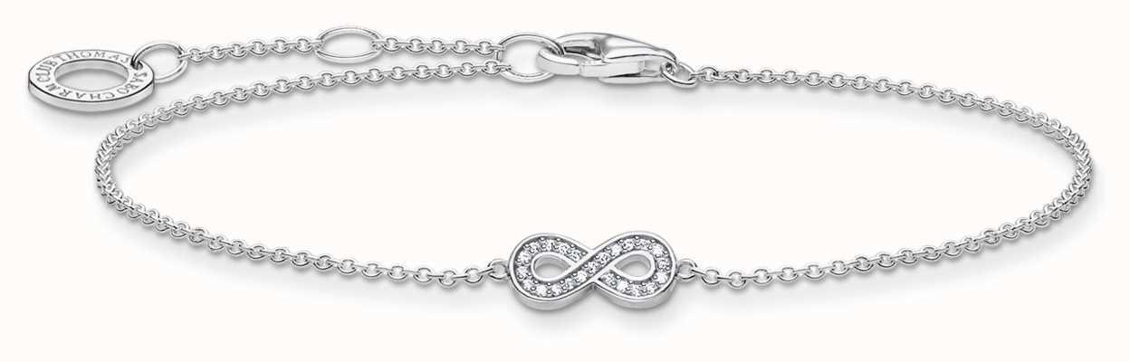 Thomas Sabo Silver Infinity Bracelet | 925Sterling Silver | 16-19cm A2003-051-14-L19V