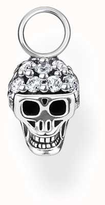 Thomas Sabo Sterling Silver Skull Single Earring Pendant EP012-643-14
