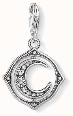 Thomas Sabo Charming | Sterling Silver Moon Charm Pendant 1854-051-14