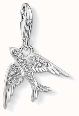 Thomas Sabo Charming | Sterling Silver Bird Charm Pendent 1857-051-14