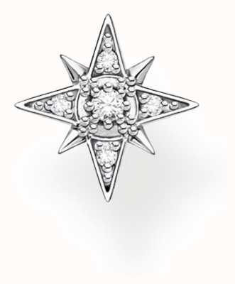 Thomas Sabo Sterling Silver Small Star Single Stud Earring H2144-051-14
