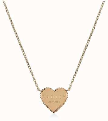 Radley Jewellery Sterling Silver Gold Plated Heart Necklace RYJ2132