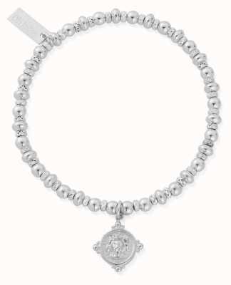 ChloBo Didi Sparkle Lion Head Bracelet   Sterling Silver SBDS889