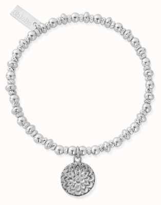 ChloBo Didi Sparkle Moonflower Bracelet   Sterling Silver SBDS697