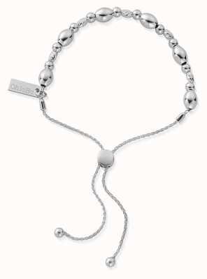 ChloBo Sparkle Oval Adjuster Bracelet   Sterling Silver SBSOA