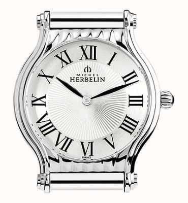 Michel Herbelin Antarès   Stainless Steel Watch Face Only   Roman Numerals H.17447/08