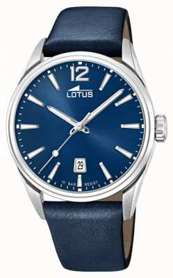 Lotus Men's Blue Leather Strap | Blue Dial L18693/1