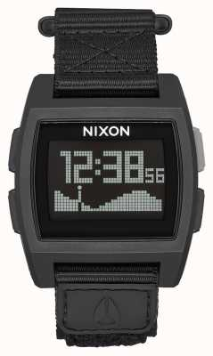 Nixon Base Tide Nylon | Surplus | Digital | Green Nylon Strap A1169-1085-00