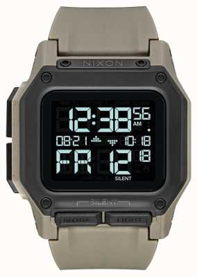 Nixon Regulus | All Sand | Digital | Sand Coloured TPU Strap A1180-2711-00