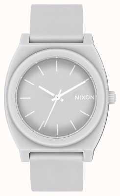 Nixon Time Teller P | Matte Cool Grey | Grey Silicone Strap | Grey Dial A119-3012-00