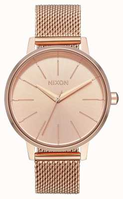 Nixon Kensington Milanese | All Rose Gold | Rose Gold IP Mesh | Rose Gold Dial A1229-897-00