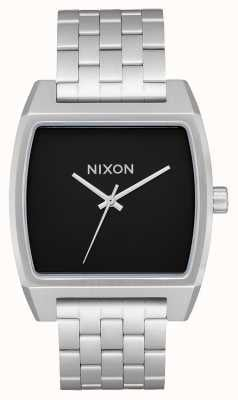 Nixon Time Tracker | Black | Stainless Steel Bracelet | Black Dial A1245-000-00