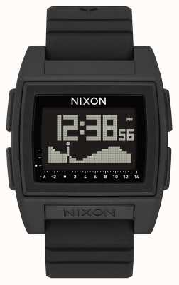 Nixon Base Tide Pro | Black | Digital | Black Silicone Strap | A1307-000-00