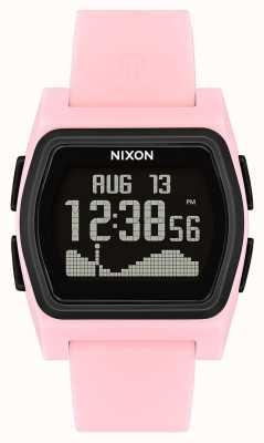 Nixon Rival | Pink / Black | Digital | Pink Silicone Strap A1236-2531-00