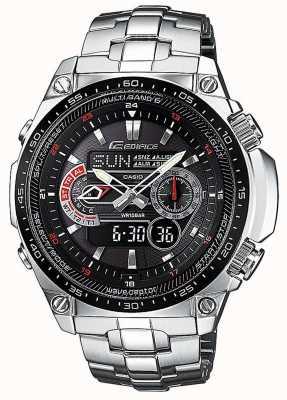 Casio Edifice wave Ceptor radio controlled alarm chronograph ECW-M300EDB-1AER