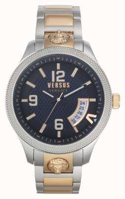 Versus Versace | Men's | Reale | Two-Tone Steel Bracelet | Blue Dial | VSPVT0920