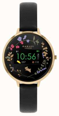 Radley Series 03 Activity Tracker | Black Leather Strap RYS03-2010