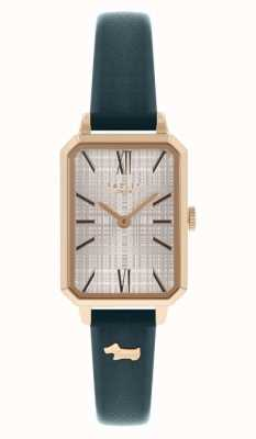 Radley Women's Navy Leather Strap | White Dial RY21206
