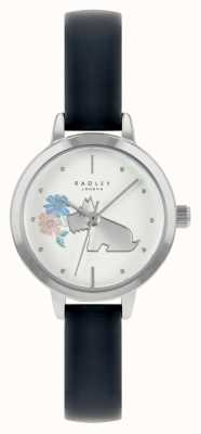 Radley Women's Blue Leather Strap | White Dial RY21237A