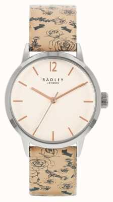Radley | Women's | Beige Pattern Leather Strap | White Dial | RY21245A