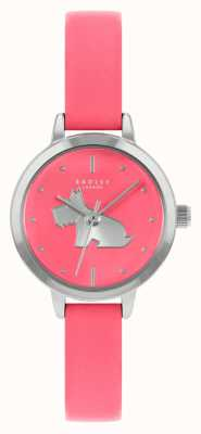 Radley Women's Bright Pink Leather Strap | Pink Dial RY21253A