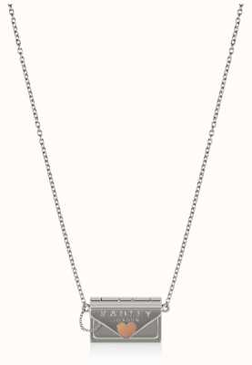 Radley Jewellery Love Letters | Sterling Silver Purse Shape Necklace RYJ2149S-CARD
