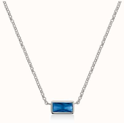 Radley Jewellery Radley Rocks | Stainless Steel Bracelet | Blue Crystal Bracelet RYJ2159S-CARD