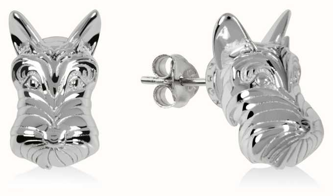 Radley Jewellery Radley & Friends | Sterling Silver Scottie Dog Stud Earrings RYJ1171S-CARD