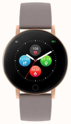 Reflex Active Series 5 Smart Watch | HR Monitor | Colour Touch Screen | Taupe Strap RA05-2034