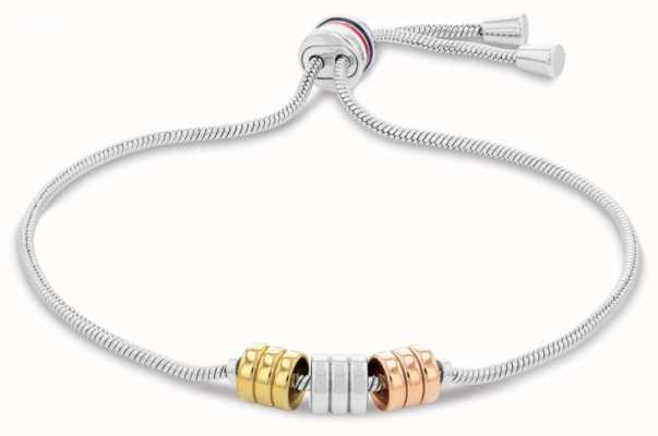 Tommy Hilfiger Women's Tri-Colour Adjustable Bracelet 2780503