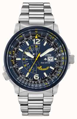 Citizen Men's Eco-Drive Blue Promaster Nighthawk BJ7006-56L