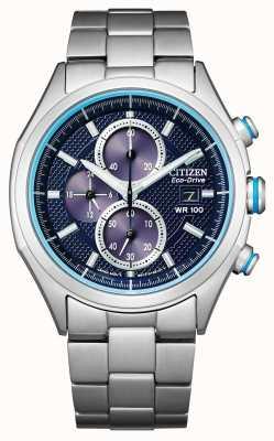 Citizen Men's Eco-Drive Bracelet WR100 CA0430-54M