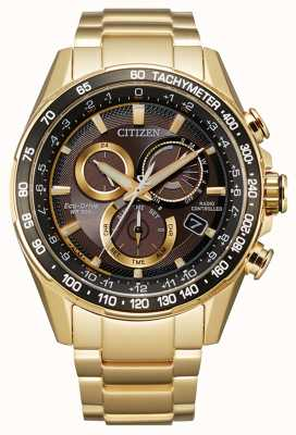Citizen Men's Eco-Drive Radio Controlled Perpetual Chrono A.T CB5912-50E