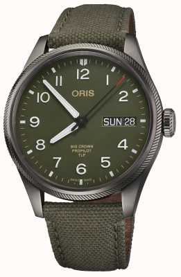 ORIS TLP Limited Edition | Green Textile Strap | Green Dial 01 752 7760 4287-SET